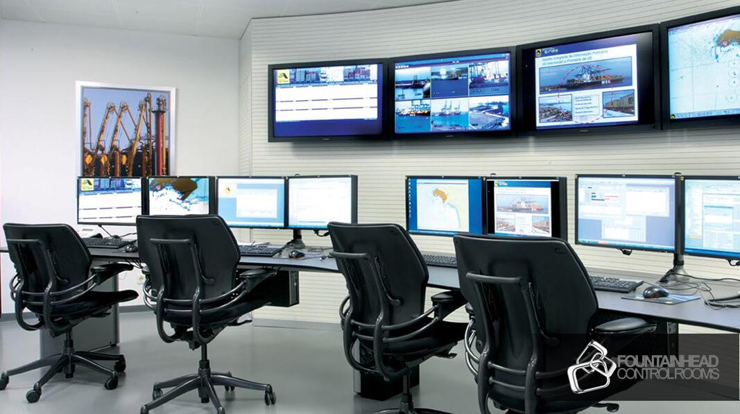 Control Room Design   Custom Designed Command Centers