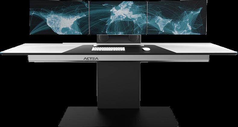 ACTEA control room console